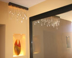 contemporary blown glass lighting